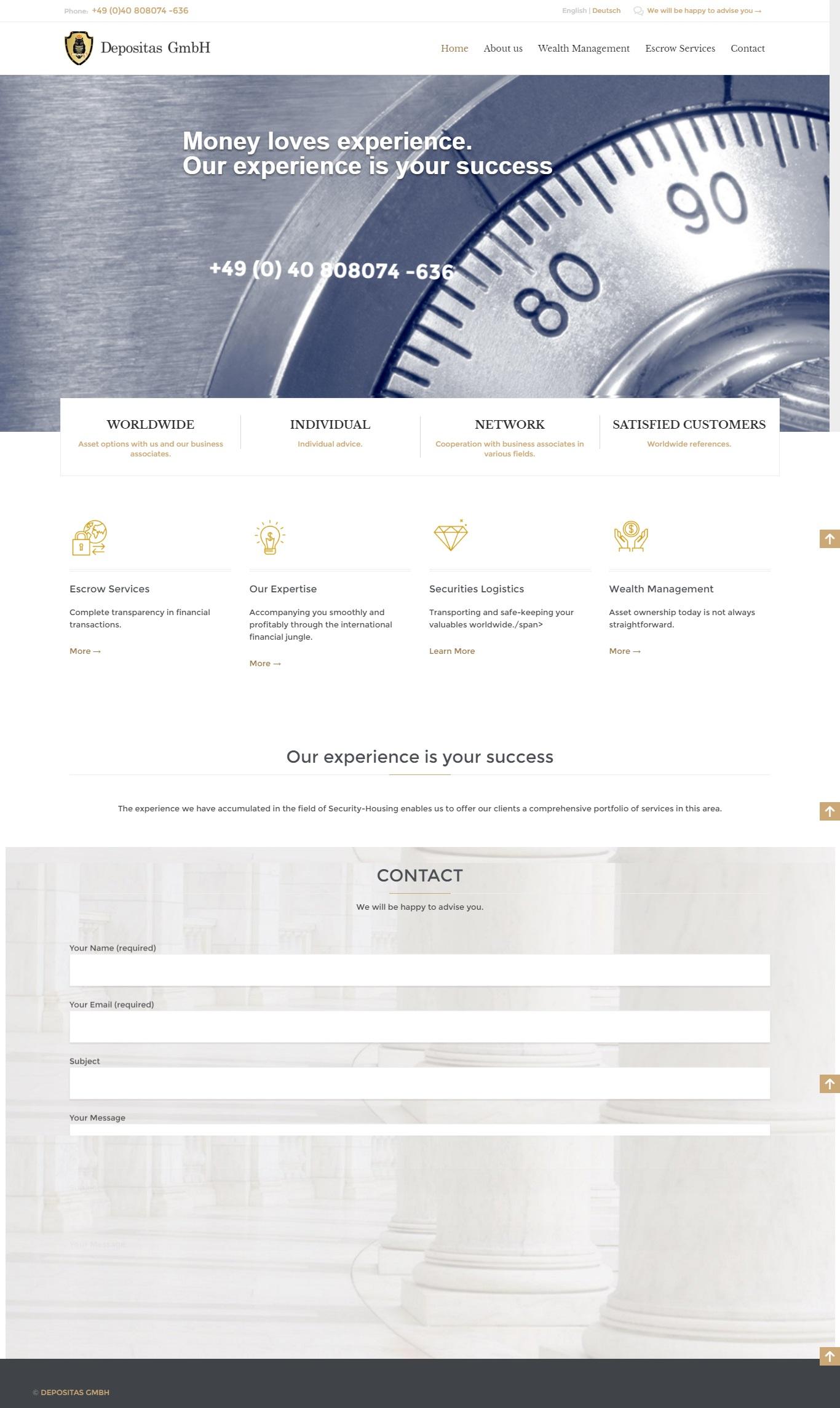 Финансовый консалтинг Depositas GmbH